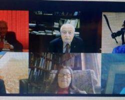 ევროპის სოფლის მეურნეობის, სურსათისა და ბუნებათსარგებლობის აკადემიების კავშირის სამეთვალყურეო საბჭოს ვიდეოკონფერენცია